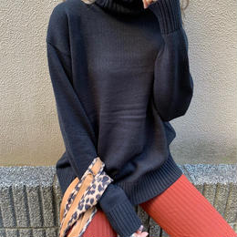 basic turtleneck knittops