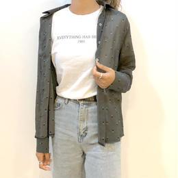【set対象】triangle pattern shirt