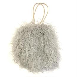 poodle fur bag