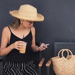 summer fringe hat