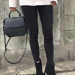 basic black skinny pants