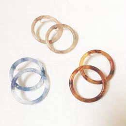 marble hoop pierce