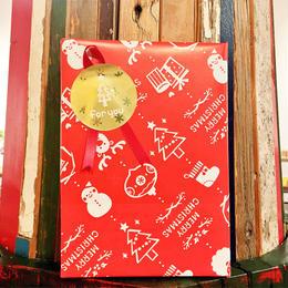 【12月31日まで無料】ギフトラッピング(クリスマスレッド柄)