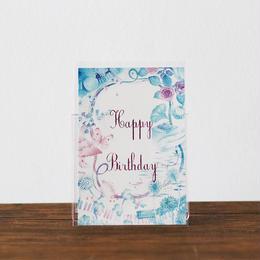 まつむらまいこポストカード Happy Birthday