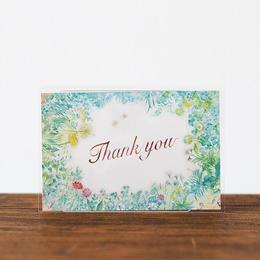 まつむらまいこポストカード Thank you