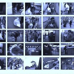 青焼きポスター(A1)|自宅のゴミをサンフランシスコのごみ捨て場に捨てに行く, 2006