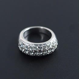 ☆素敵な願いが叶いますように!☆小指の指輪/きらめくゴージャスパヴェ☆ピンキーリング