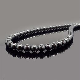 天然石 ネックレス ヘマタイト 磁気あり