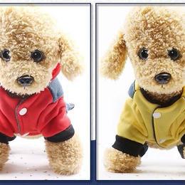 犬服 ペット服 冬 厚手 ペット用品 2色