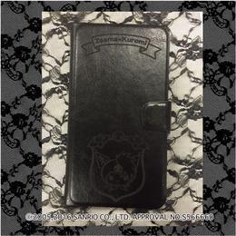 数量限定 Zsama×Kuromiコラボ手帳型携帯ケース=黒=(16Z1-3005)