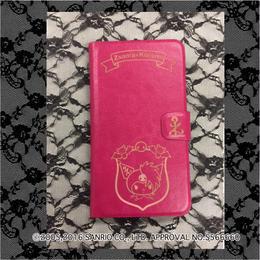 数量限定 Zsama×Kuromiコラボ手帳型携帯ケース=ピンク=(16Z1-3005)