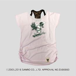 Zsama×KuromiコラボTシャツ=ピンク=(16Z1-1003)