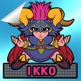 第2弾【鏡のアッコちゃん】「武装IKKOイッコ」(特別アルミ青・Wシール)