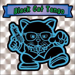 【海外版】キャッツオブサードストリート「black cat tango」(銀プリズム)