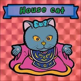 【海外版】キャッツオブサードストリート「house cat」(赤プリズム)
