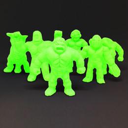 第1弾 妖怪レスラー・クリスタル蓄光(緑)全6種