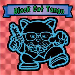【海外版】キャッツオブサードストリート「black cat tango」(赤プリズム)