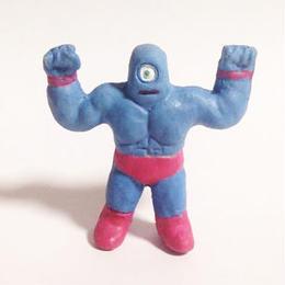 妖怪レスラー・一つ目マン(彩色)プラスチック人形