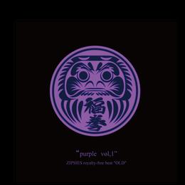"""purple vol,1""(9曲)  ZIPSIES royalty-free beat ""OLD"""