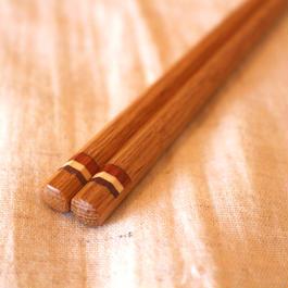 木のお箸(とりころーる)