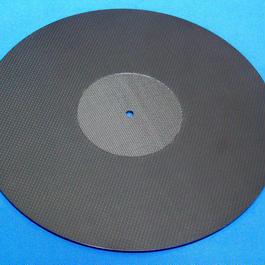 カーボン無垢  ターンテーブルシート 厚さ約3.8ミリ※受注生産(1週間~10営業日)