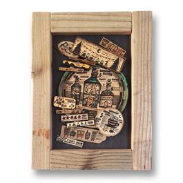 原画 まちの木製標本4