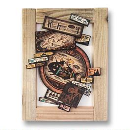 原画 まちの木製標本2