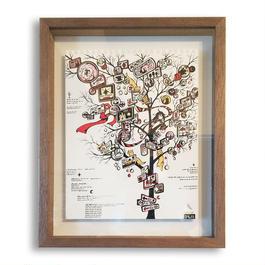 原画 看板の森のお祭り
