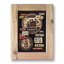 原画 まちの木製標本5