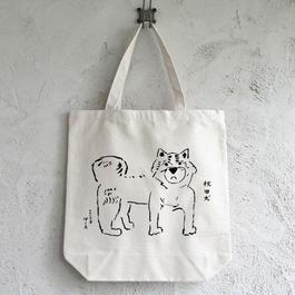 秋田犬 トートバッグ