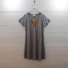 Slic*Slic カジュアルTシャツ  GREY
