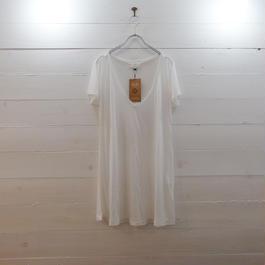 Slic*Slic カジュアルTシャツ white
