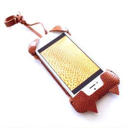 iPhone SE cwj neco 猫耳ウォレットジャケット/オイルバケッタレザー
