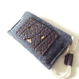 iPhone6 felt&Leather sleeve case