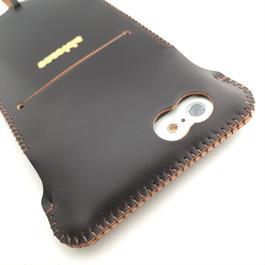 【コードバン製】iPhone 6s cwj cordovan ウォレットジャケット