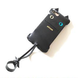 【1点物】iPhone7swj neco 黒猫オッドアイ