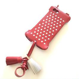 【abiwork】iPhone 6s cwj neco dot 赤猫ジャケット