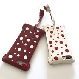 【各1点】abicasePro iPhone7 Plus sj  水玉ジャケット