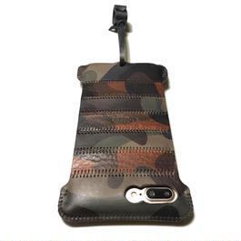1点物【abicasePro】iPhone7Plus  sj  カモフラボーダー