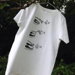 NEEDLE DROP Tshirt 5.3oz ホワイト
