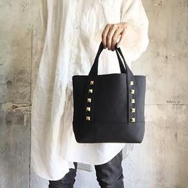 canvas tote bag medium (black)
