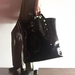 enamel concho  bag (L)