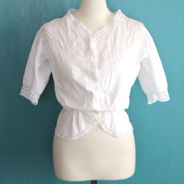 Early 20th  c. cotton blouse