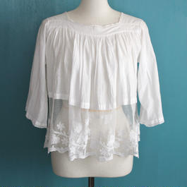 Early 20th c. tunic blouse