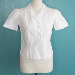 1940s white shirt