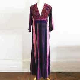 Vintage Afghan maxi Dress