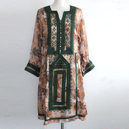 1970s Afghan traditional dress
