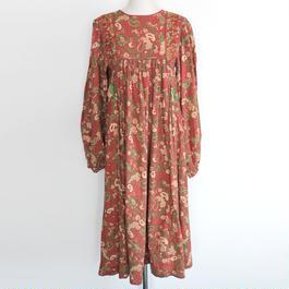 1970s indian cotton  dress