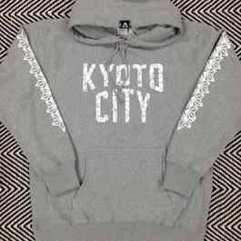 BAKIBAKI x KYOTO CITY パーカ
