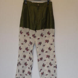"""Original flower docking pants"""